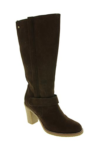 ixoo chaussures femme de couleur marron