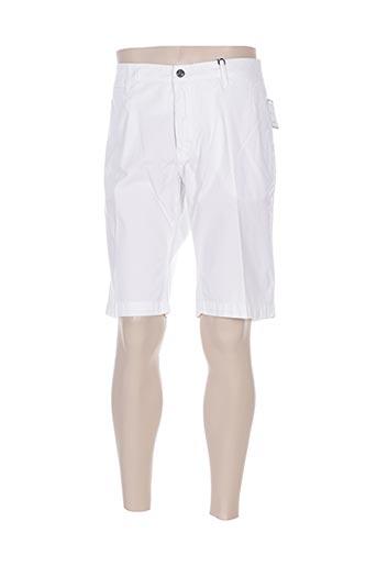 la squadra shorts / bermudas homme de couleur blanc
