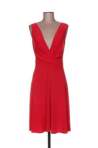 eroke robes femme de couleur rouge