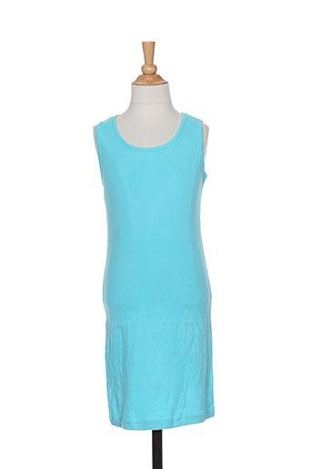 Robe courte bleu PUNKIDZ pour fille