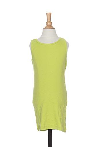 Robe courte vert PUNKIDZ pour fille