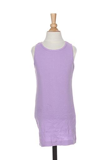 Robe courte violet PUNKIDZ pour fille