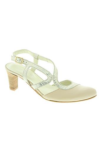 arima chaussures femme de couleur beige