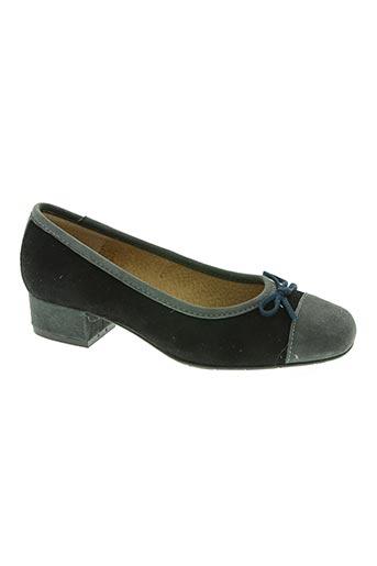 d'chicas chaussures femme de couleur noir