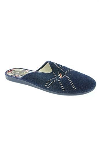 alcalde chaussures homme de couleur bleu