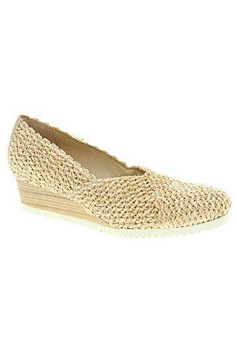 d'chicas chaussures femme de couleur beige
