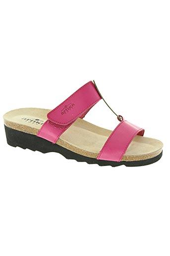 artika soft chaussures femme de couleur rose
