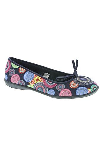 rondinaud chaussures femme de couleur bleu