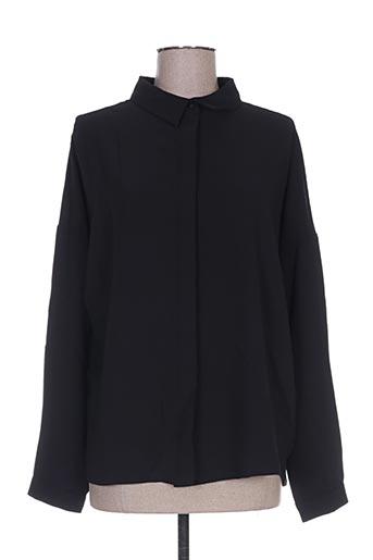 chattawak chemises femme de couleur noir