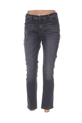 yaya jeans femme de couleur gris