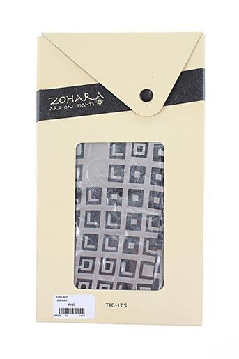 zohara lingerie femme de couleur gris
