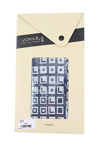 Collants noir ZOHARA pour femme