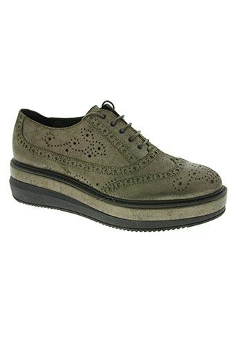 peperosa chaussures femme de couleur vert