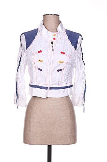 dislay vestes femme de couleur blanc