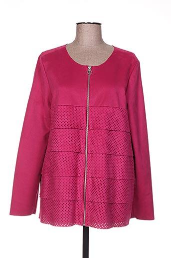 Veste casual rose BOCA BOKA pour femme