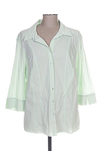 steilmann chemises femme de couleur vert