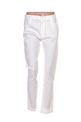 Pantalon casual blanc AVANTI TUTTI pour femme