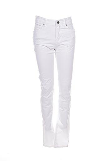 Pantalon casual blanc BISOU D'EVE pour femme