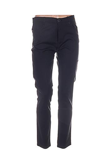 Pantalon casual noir AVANTI TUTTI pour femme