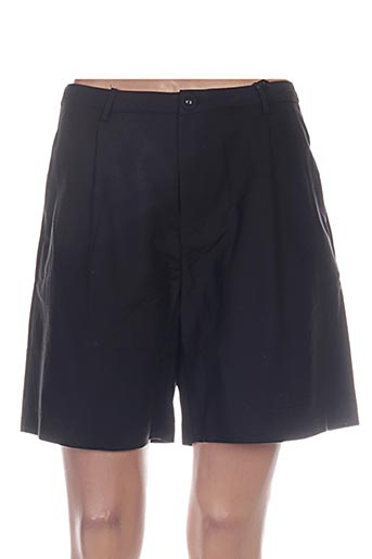 lina shorts / bermudas femme de couleur noir