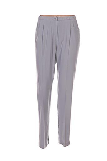 altina pantalons femme de couleur gris