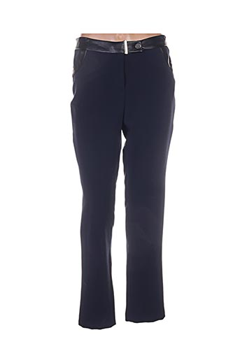 femmes je vous aime pantalons femme de couleur bleu