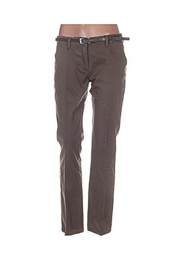 Pantalon chic vert BISOU D'EVE pour femme