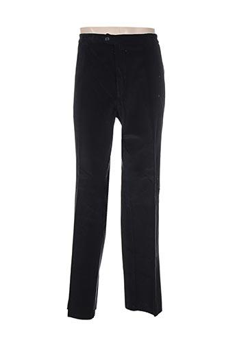 nino loretti pantalons homme de couleur noir