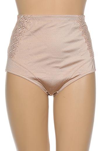 conturelle lingerie femme de couleur chair