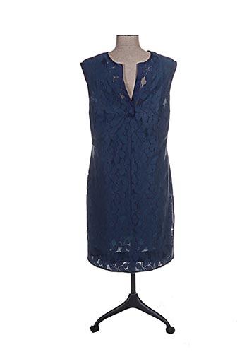 ana sousa robes femme de couleur bleu