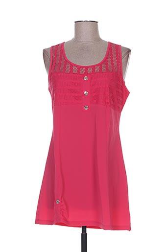 maloka t-shirts femme de couleur rose