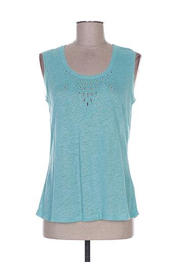 maloka t-shirts femme de couleur vert