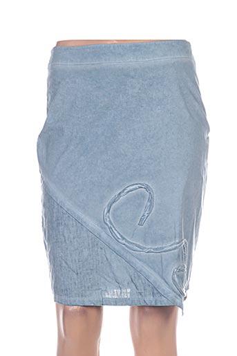 maloka jupes femme de couleur bleu