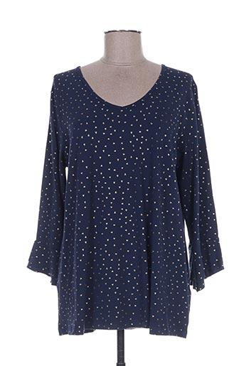 ciso t-shirts femme de couleur bleu