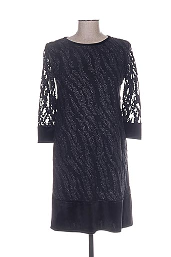 gevana robes femme de couleur noir