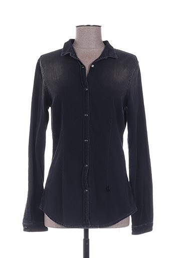 met chemises femme de couleur noir