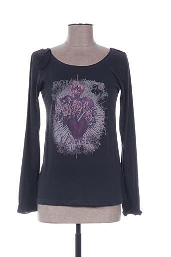 ddp t-shirts femme de couleur gris