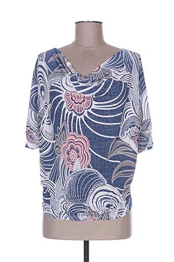 new collection t-shirts femme de couleur bleu