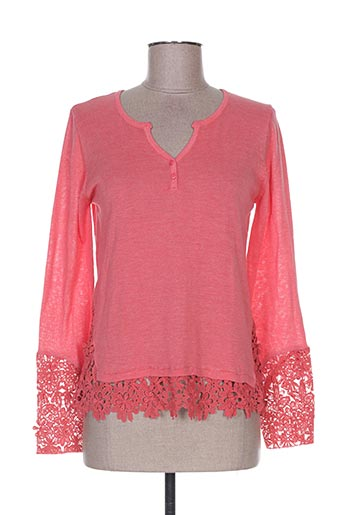 maella pulls femme de couleur rose