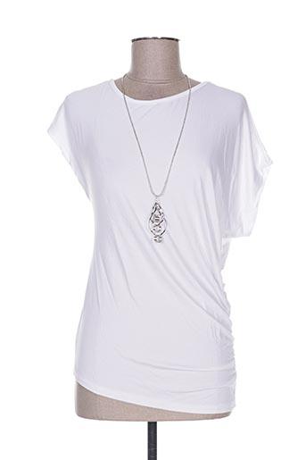 new collection t-shirts femme de couleur blanc