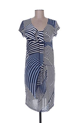 Robe mi-longue bleu COVERI WORLD pour femme