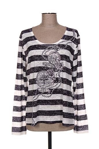 ky creation t-shirts femme de couleur noir