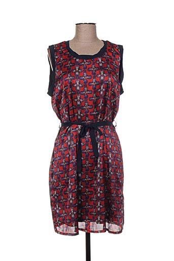 areline robes femme de couleur rouge