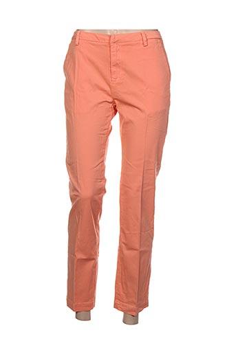 Pantalon casual orange BISOU D'EVE pour femme