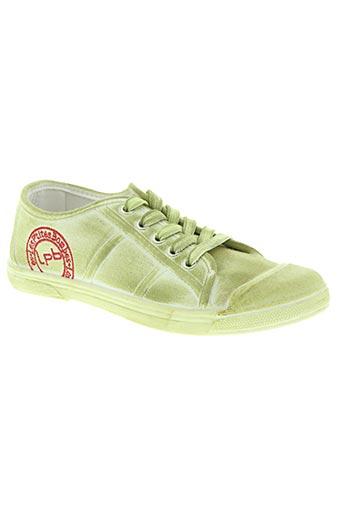 les p'tites bombes chaussures fille de couleur vert