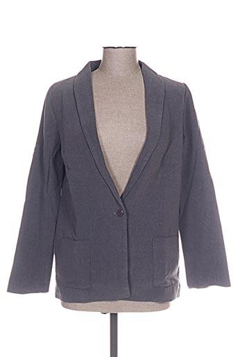 Veste chic / Blazer gris CLO&SE pour femme