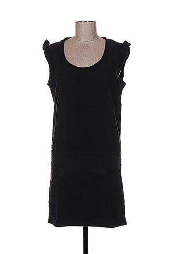 Robe courte noir CLO&SE pour femme
