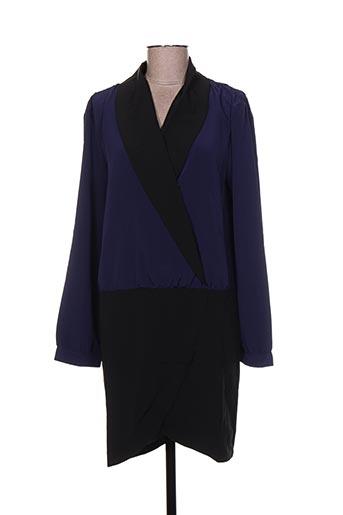 Robe mi-longue bleu CLO&SE pour femme