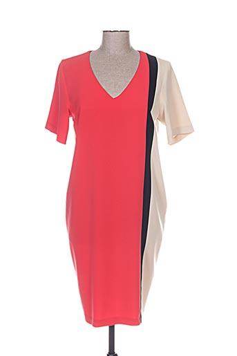 cristina effe robes femme de couleur rouge