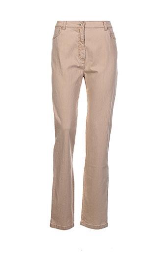 toni jeans femme de couleur beige